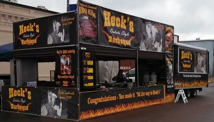 Heck's Dakota Style BBQ: 409 Sterling St, Vermillion, SD