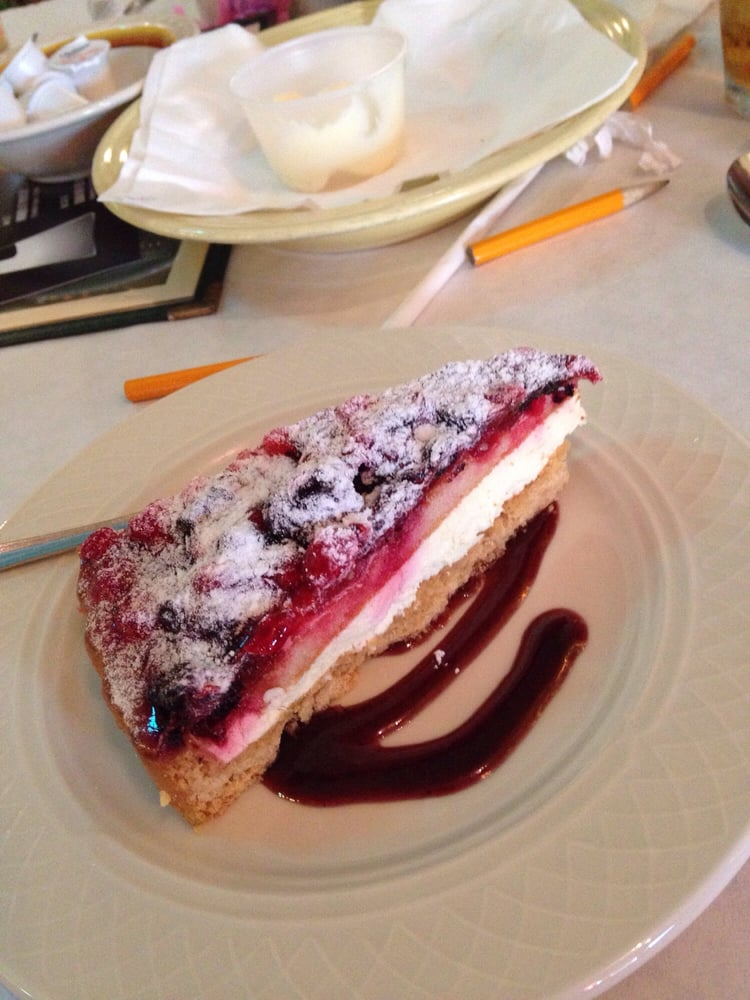 Photo of The Village Eatery - Glendora, CA, United States. Dessert at the murder mystery dinner!