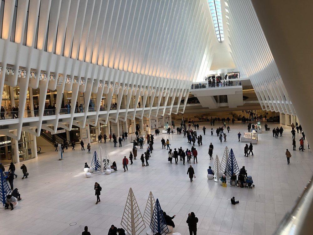 PATH Train World Trade Center Station