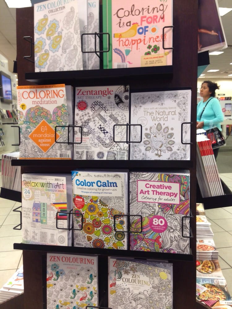 Adult Coloring Books The One On The Bottom Left Looked The Best Yelp