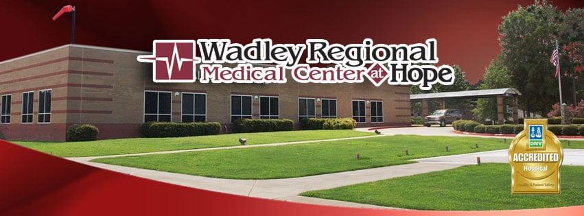 Wadley Regional Medical Center at Hope: 2001 S Main St, Hope, AR