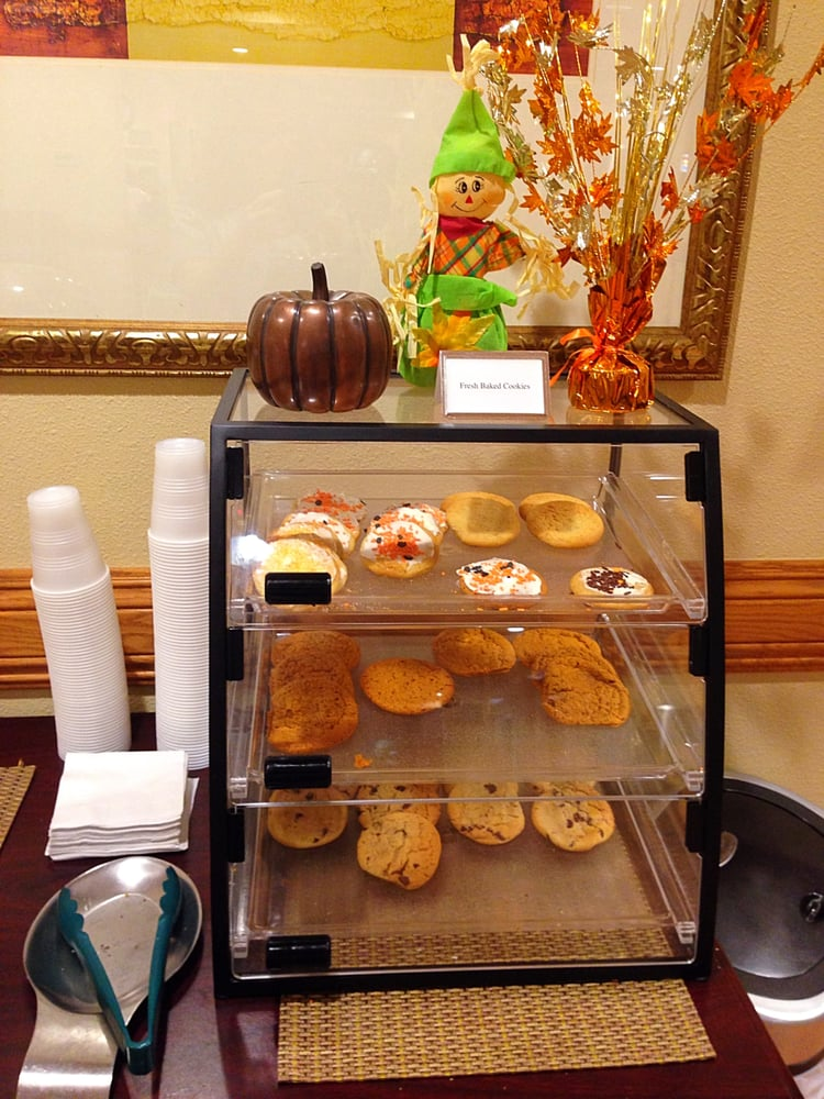 Yummy cookies in the lobby Yelp