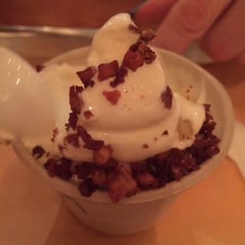 Wvrst - Toronto, ON, Canada. Salted maple rosemary ice cream.