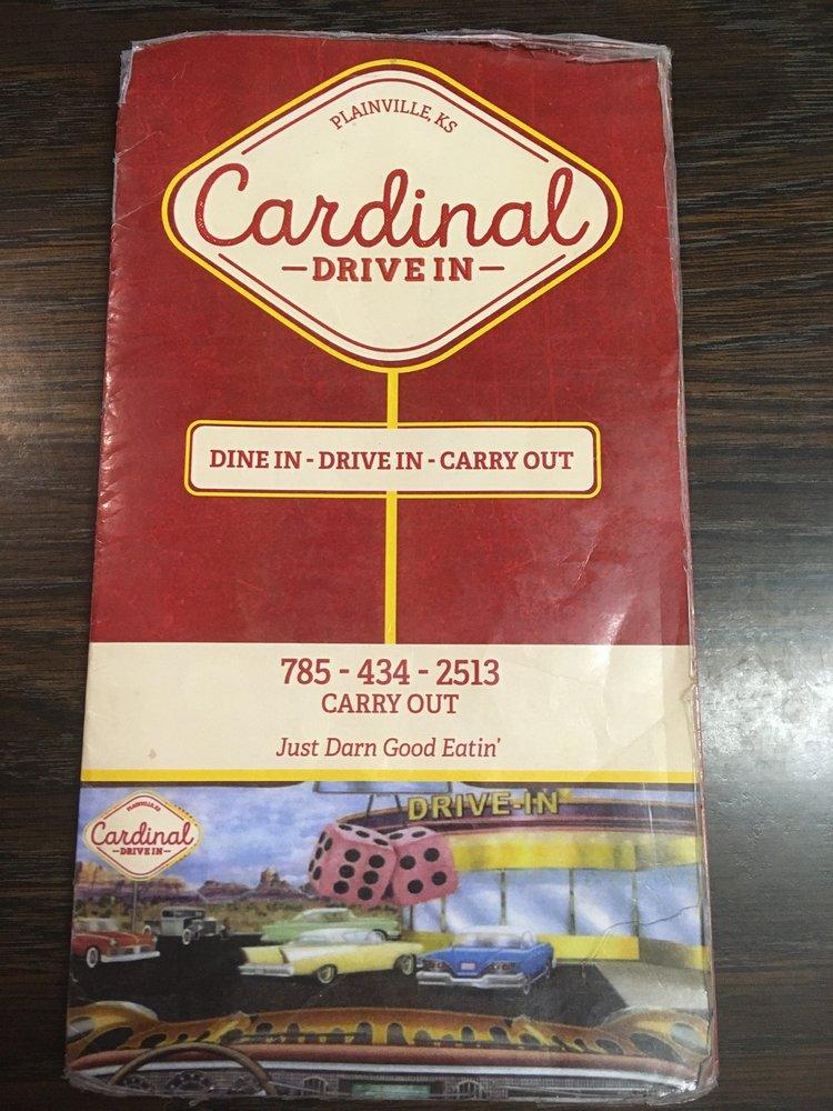 Cardinal Drive In: 400 N Broadway St, Plainville, KS