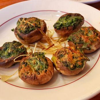 photo of the berghoff restaurant chicago il united states stuffed mushrooms
