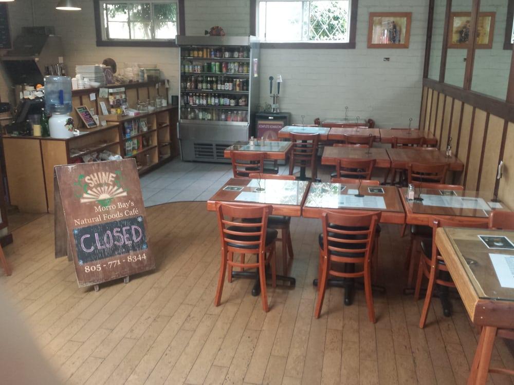 Shine Cafe Morro Bay Ca
