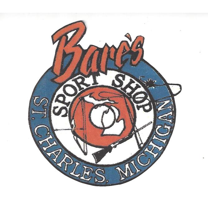 Bare's Sports Shop: 104 W Water St, St Charles, MI