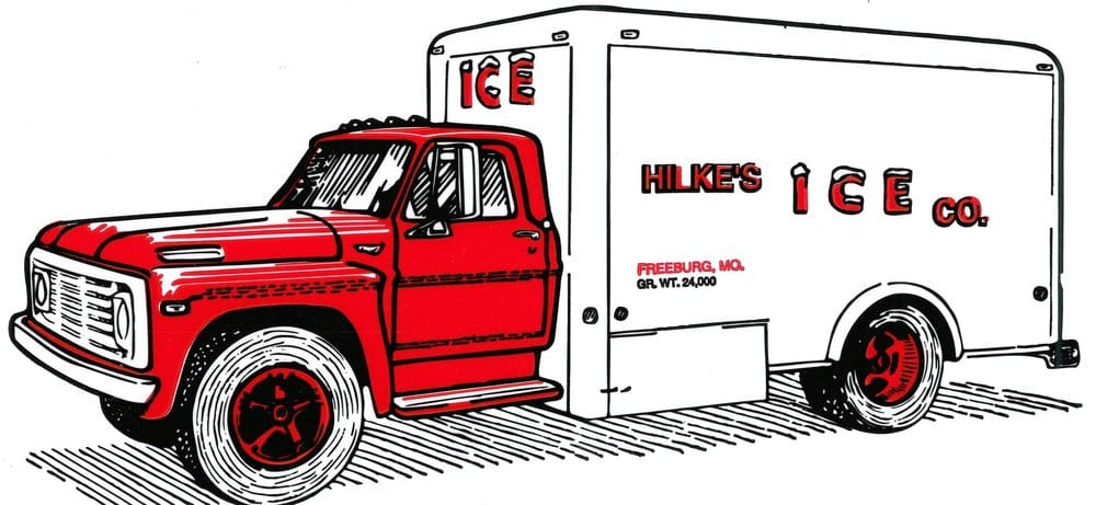 Photo of Hilke Ice Company: Freeburg, MO