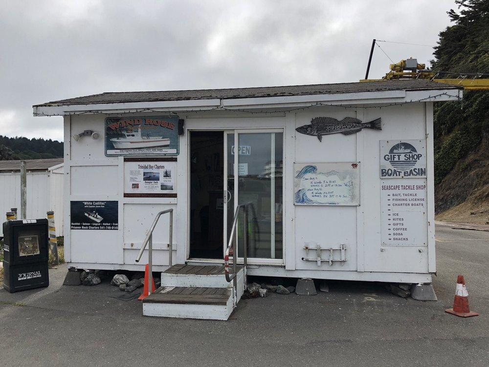Seascape Tackle Shop: 1 Bay St, Trinidad, CA