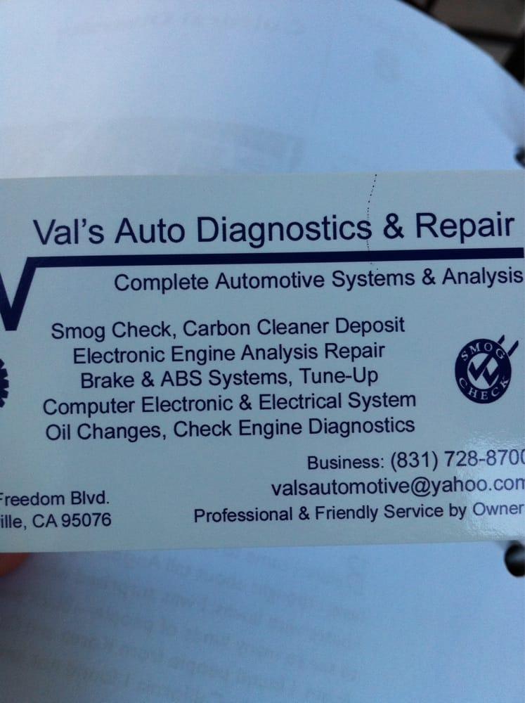 Val s auto diagnostic repair 16 reviews garages Freedom motors reviews
