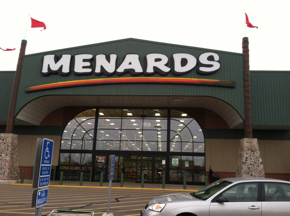 View The Menards Hours: