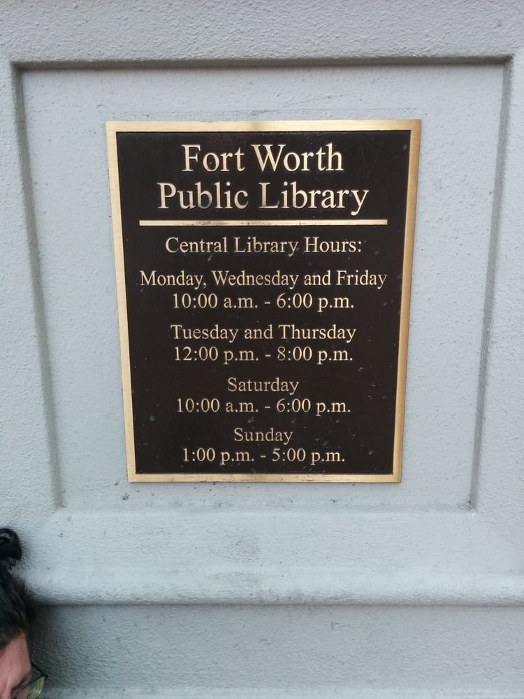 Fort Worth Public Library