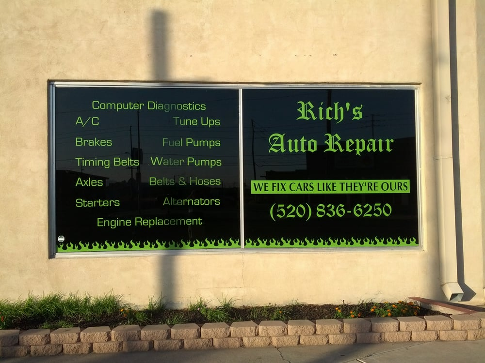 Rich's Auto Repair: 312 W 2nd St, Casa Grande, AZ