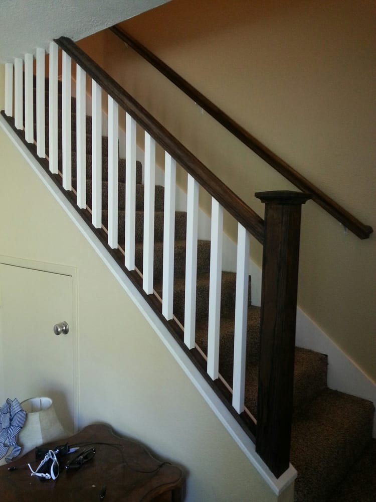 Interior stair railing installation yelp - How to install interior stair railings ...