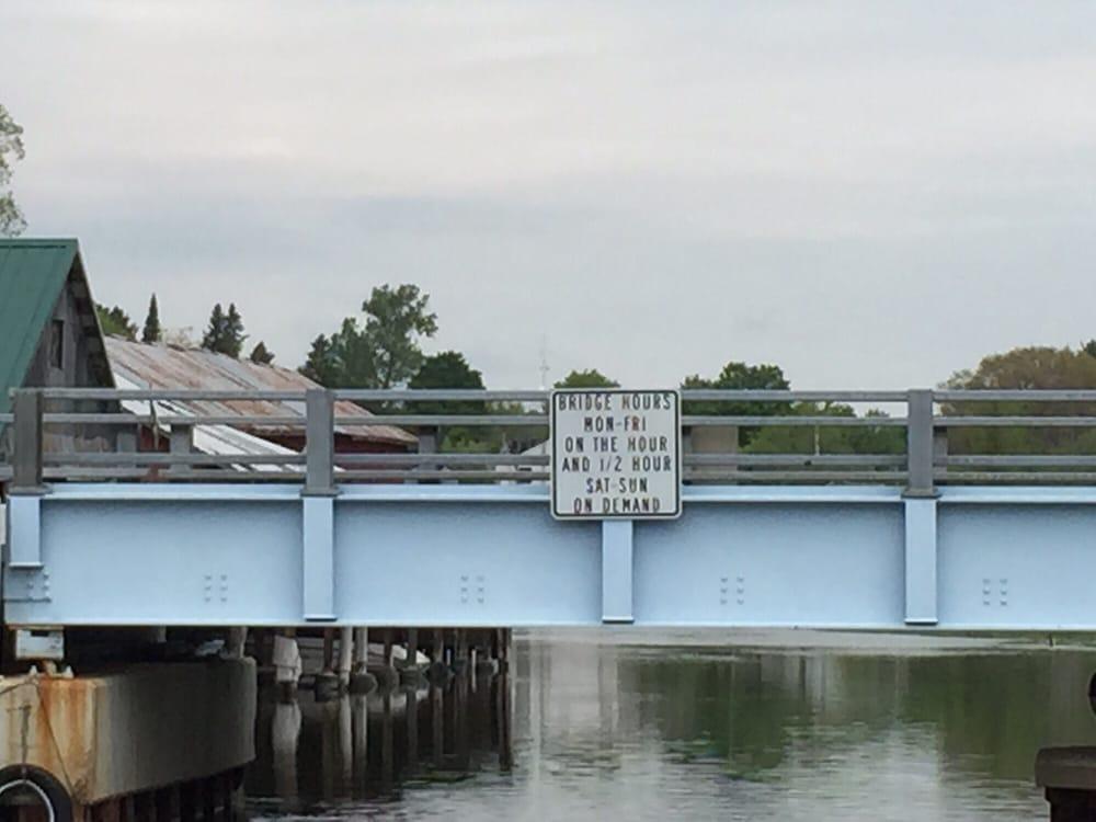 Alanson Swing Bridge: 6332 River St, Alanson, MI