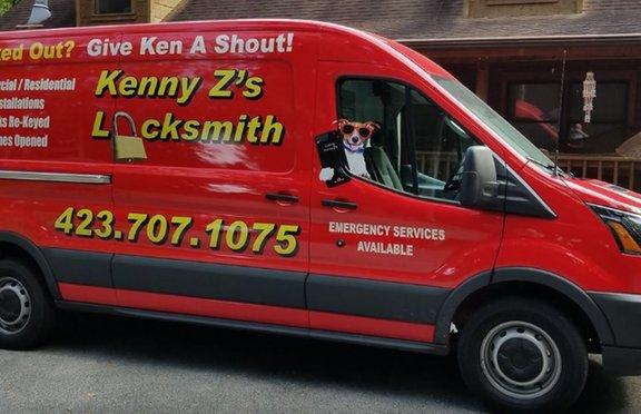 Kenny Z's Locksmith: 607 Wessex Dr, Kingsport, TN