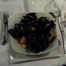 Giostra NY - Tappan, NY, United States. I had the special fettucine pasta with mussels and perfectly al dente pasta.