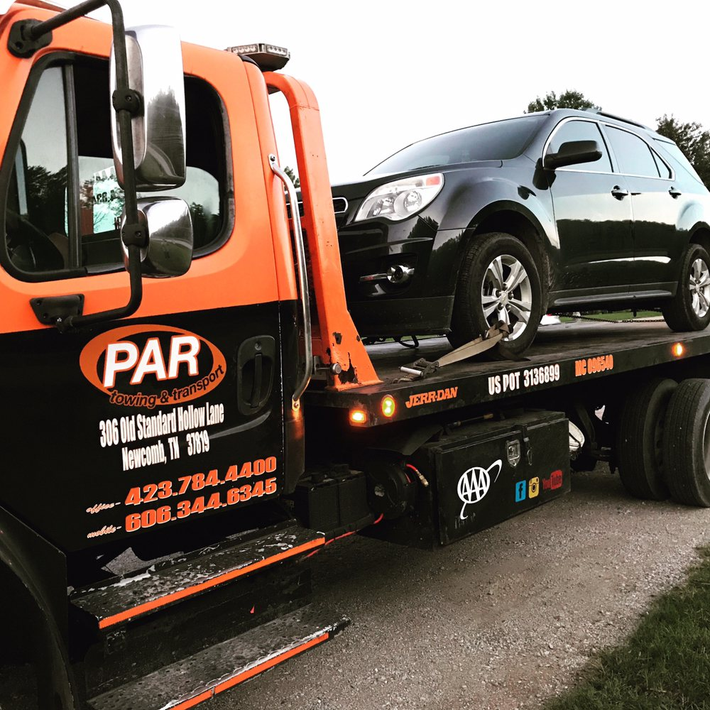 PAR Towing & Transport: 306 Old Standard Hollow Ln, Newcomb, TN