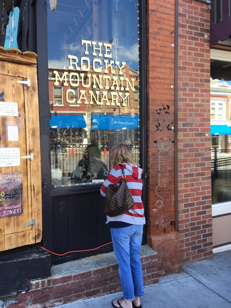 Rocky Mountain Canary General Store: 246 Bennett Dr, Cripple Creek, CO
