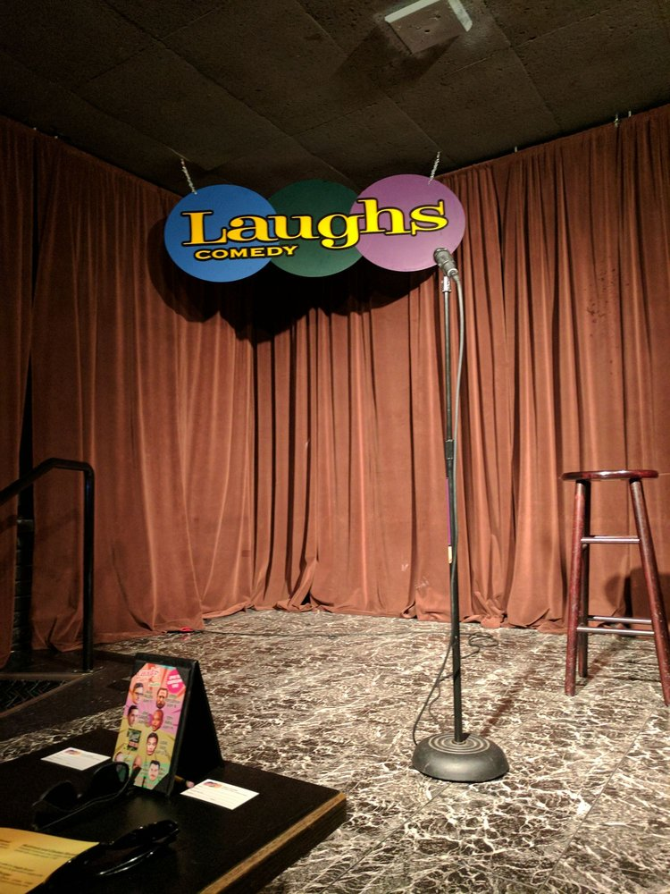 Laughs Comedy Club- Seattle