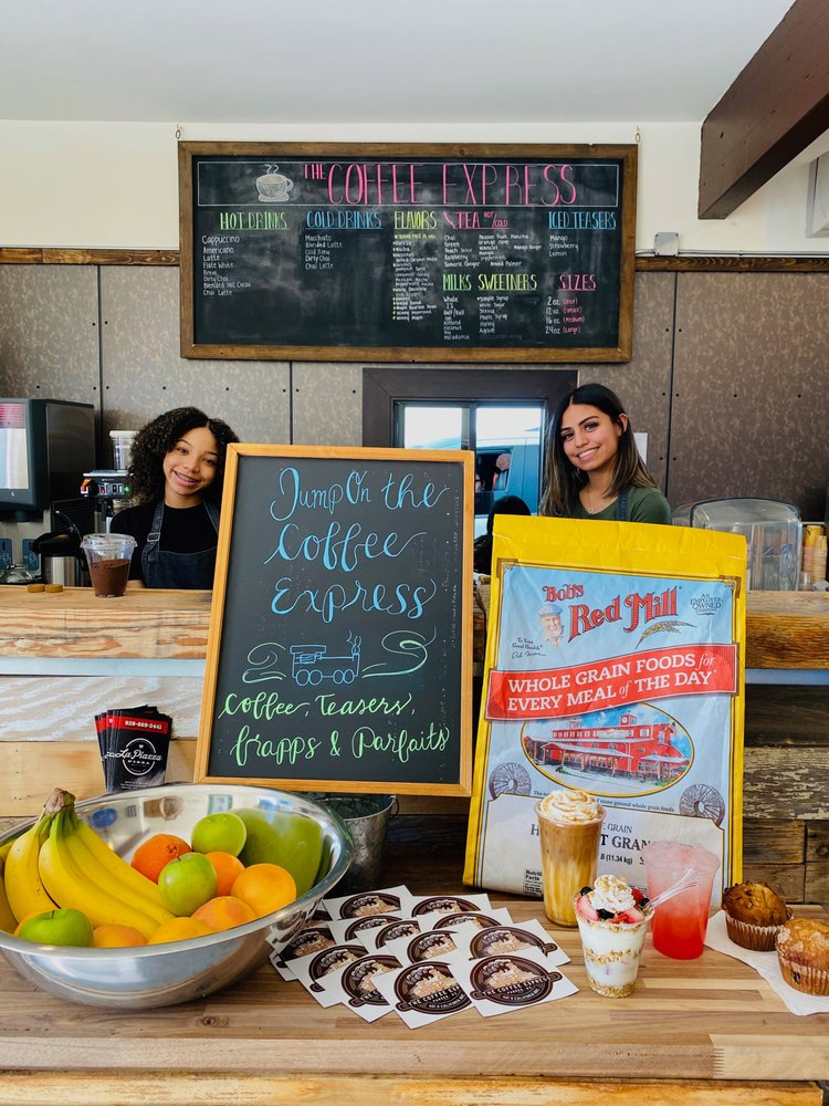 The Coffee Express: 401 S California Ave, Parker, AZ