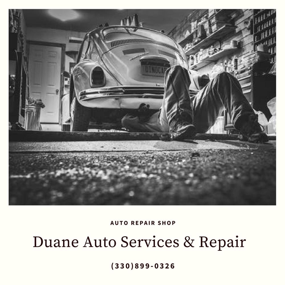 Duane Auto Services & Repair: 2229 Greensburg Rd, North Canton, OH