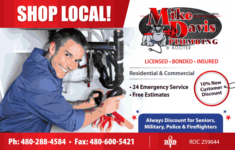 Mike Davis Plumbing: 402 E Hondo Ave, Apache Junction, AZ