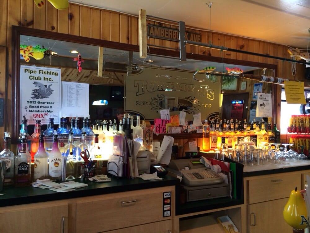 Tommy J's Bar: W2663 County Rd W, Malone, WI
