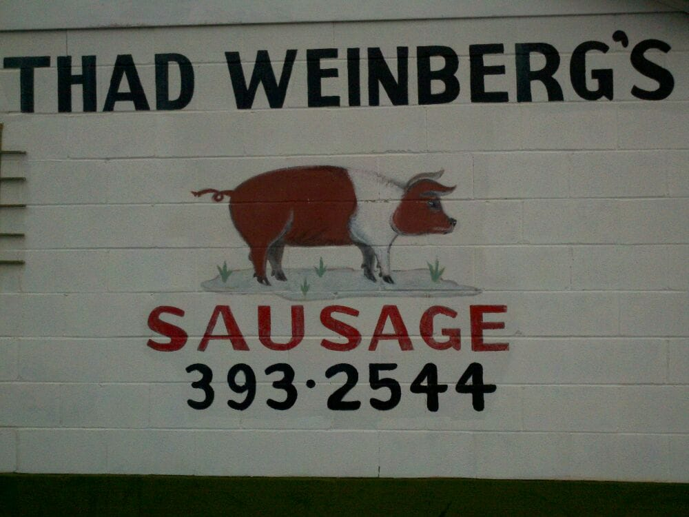 Weinberg's Thad Sausages: 1014 Pearl St, Darlington, SC