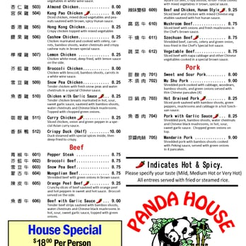 Panda House Chinese Restaurant Arlington Tx
