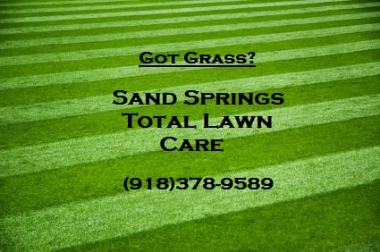 Sand Springs Total Lawn Care - 407 Angus Dr, Sand Springs, OK - 2019