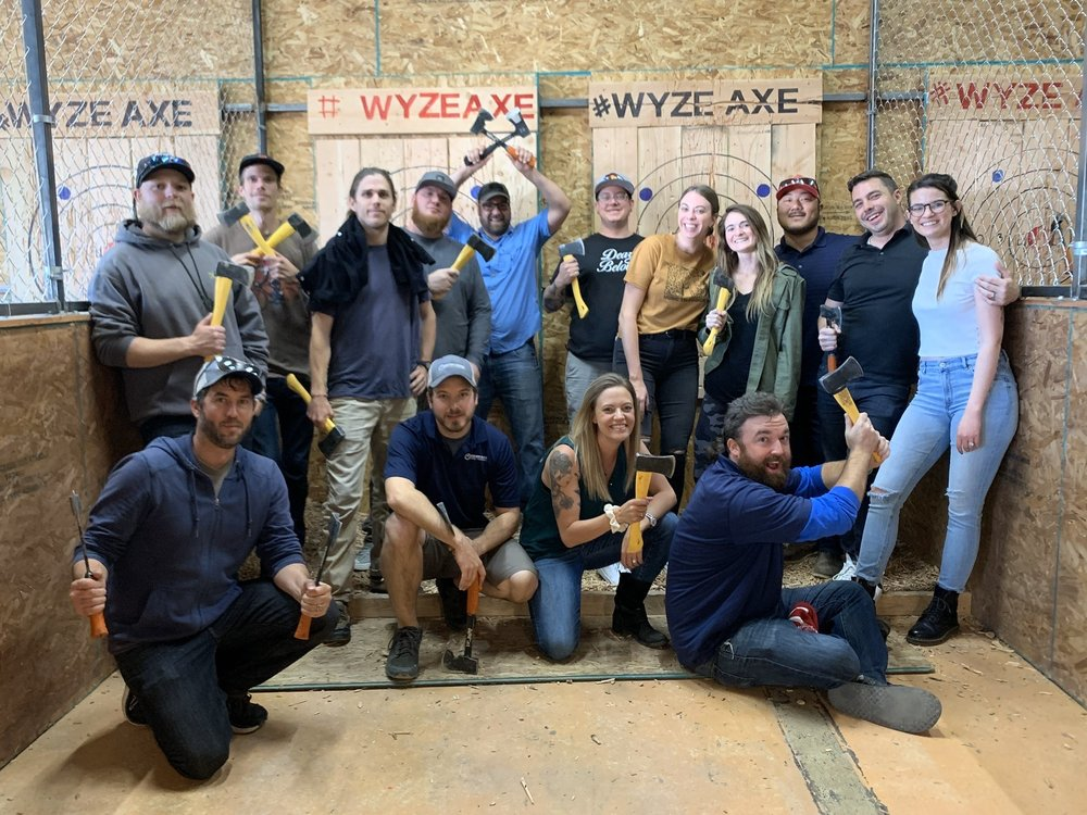 Wyze Axe Throwing: 4011 S Broadway, Englewood, CO