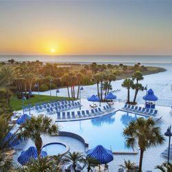 Photo Of Sheraton Sand Key Resort Clearwater Beach Fl United States Pool