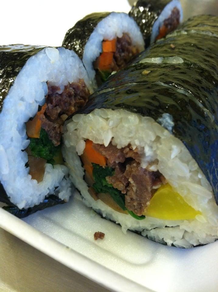 Beef kimbap. Yummmmm - Yelp