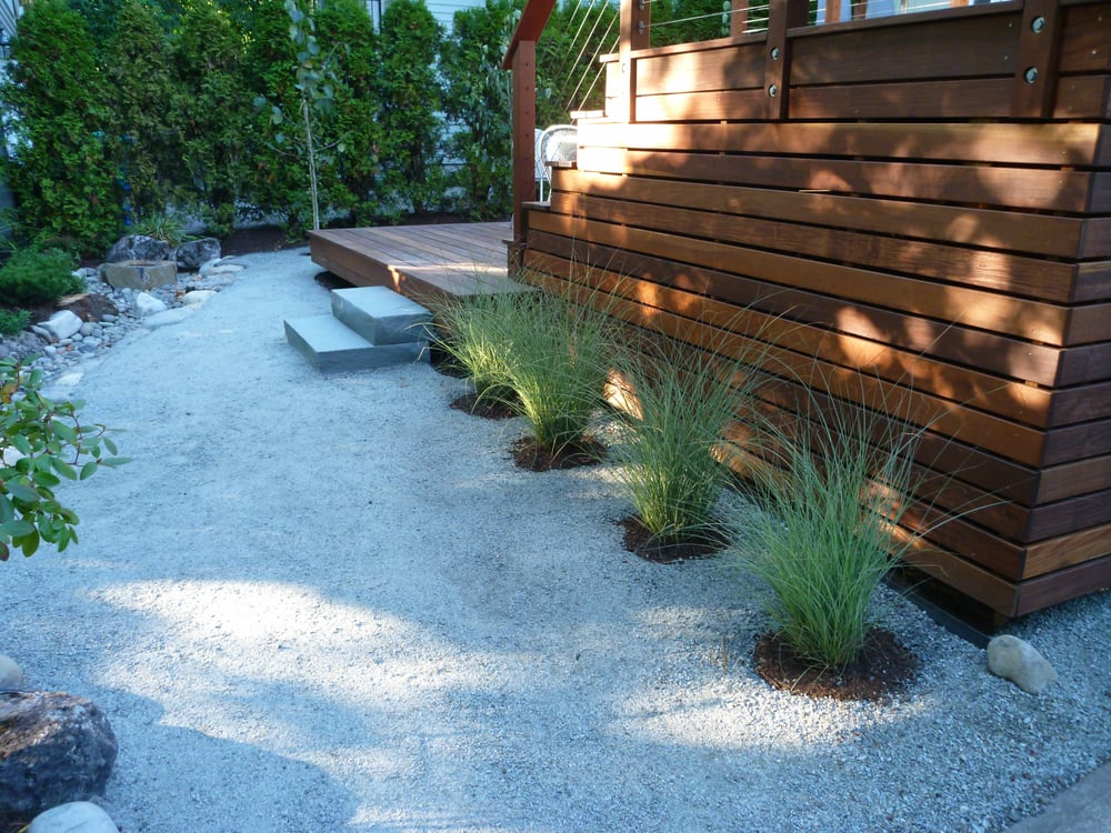 Decomposed Granite Path Bluestone Steps To Deck