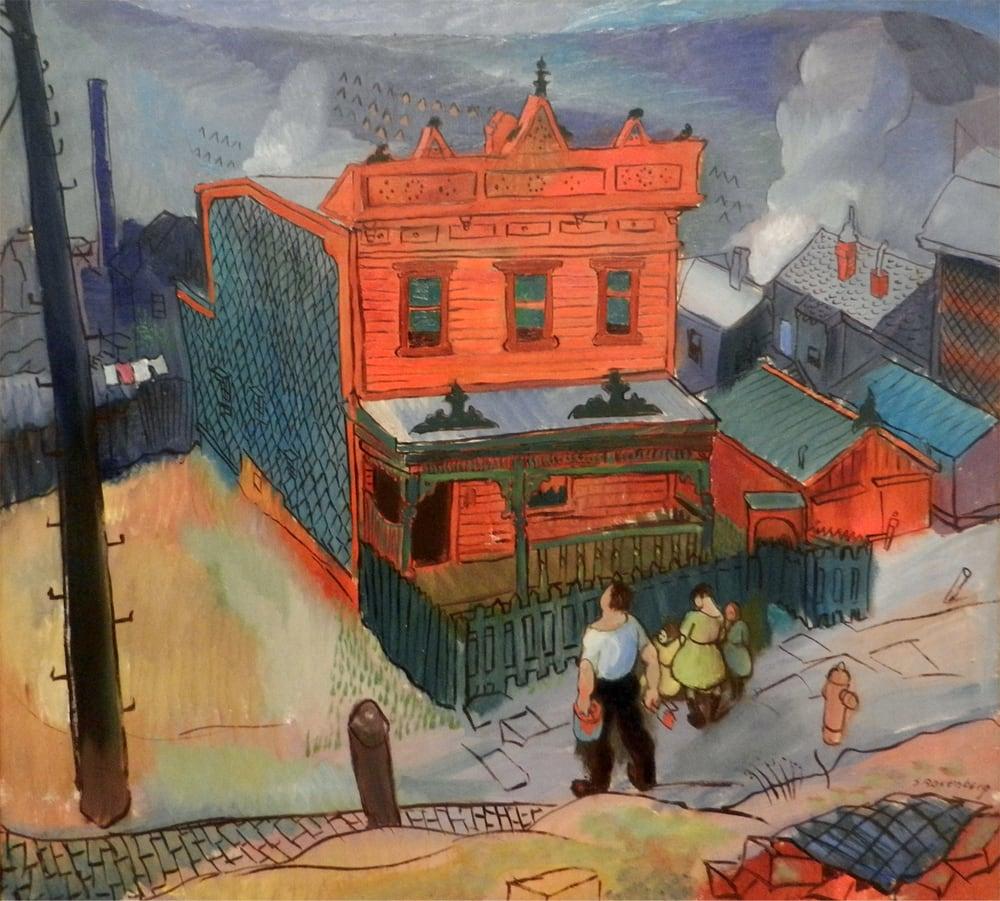Samuel Rosenberg Proud Owner 1932 Oil On Canvas Yelp