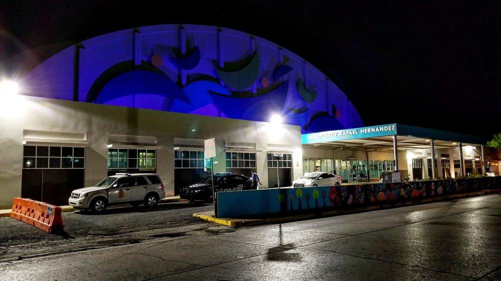 Aeropuerto Internacional Rafael Hernandez - BQN: Hangar Rd 405, Camaceyes, PR