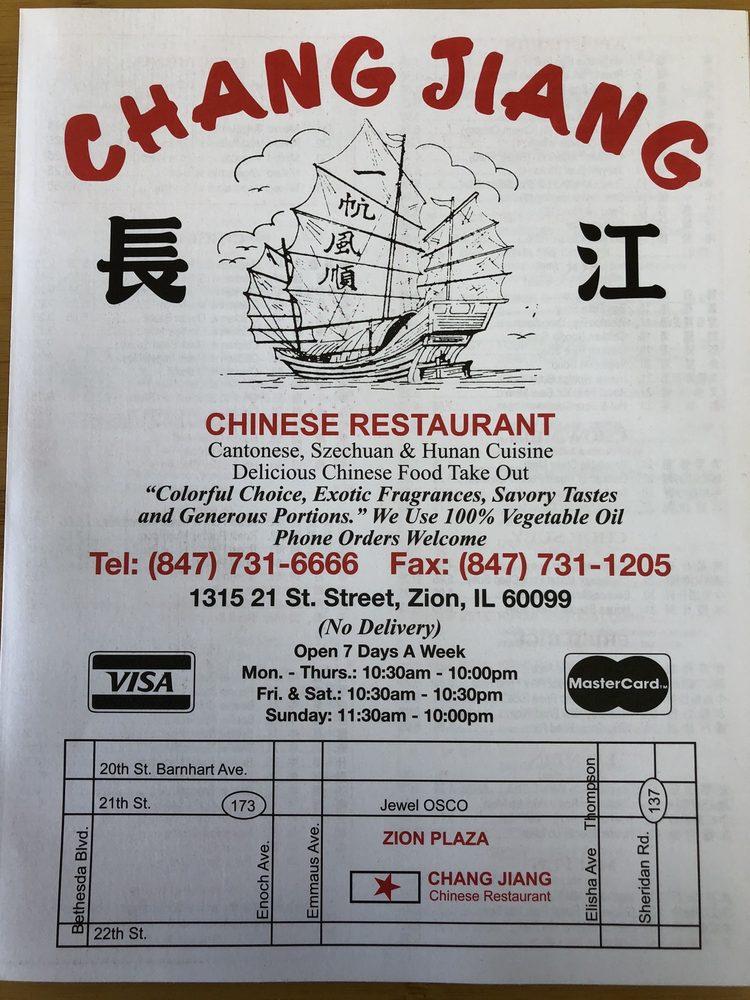 Chang Jiang Chinese Kitchen: 1315 21st St, Zion, IL