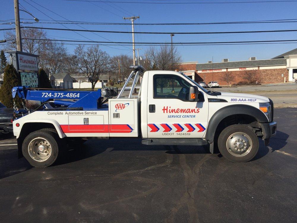 Hineman's Service Center: 2329 Mill St, Aliquippa, PA