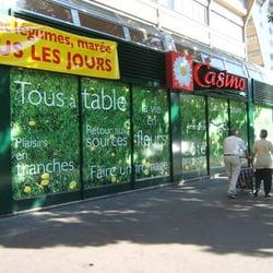 Casino supermarket in paris