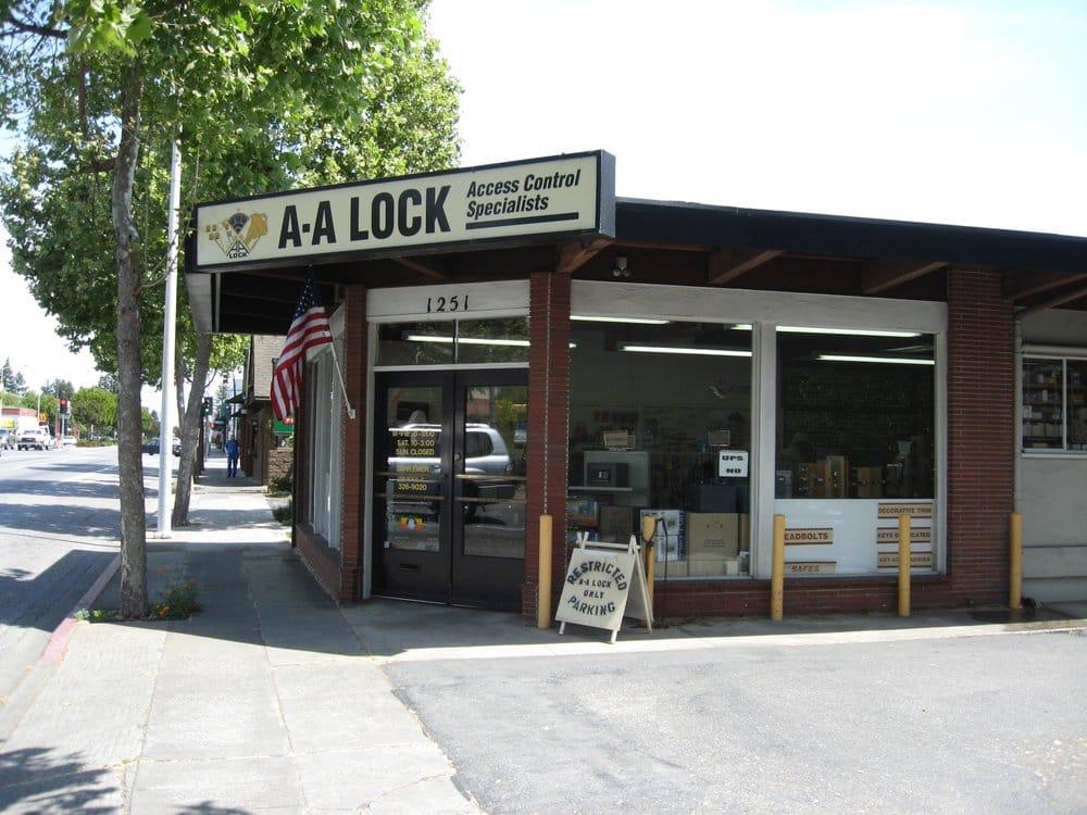A-A Lock & Alarm: 1251 El Camino Real, Menlo Park, CA