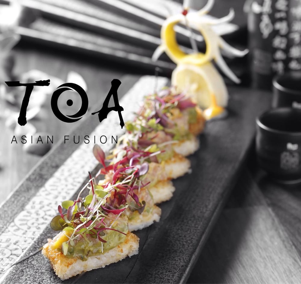 Toa asian fusion order food online 232 photos 107 for Akane japanese fusion cuisine new york ny