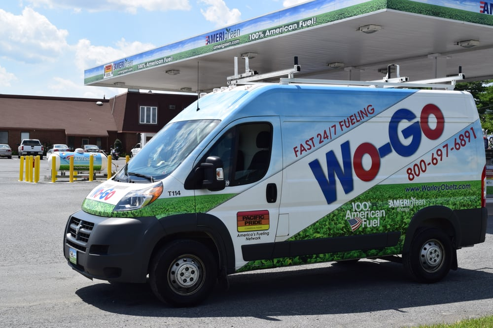 Fill Your Vehicle With 100 American Fuel With A Wogo Or