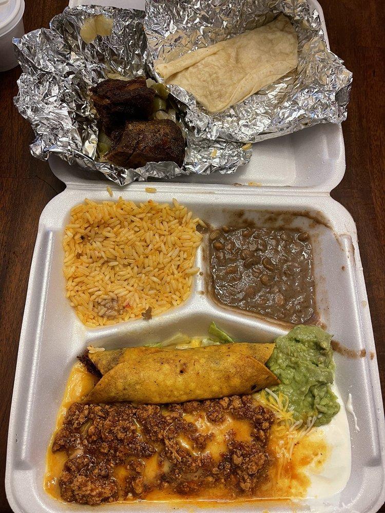 Food from Rio Grande Tex Mex Grill