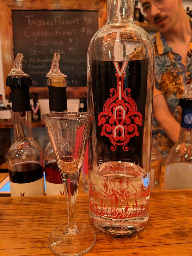 Vinn Distillery Tasting Room: 222 SE 8th Ave, Portland, OR