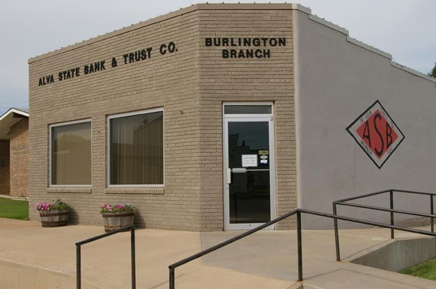 Alva State Bank Burlington Branch: Burlington, OK