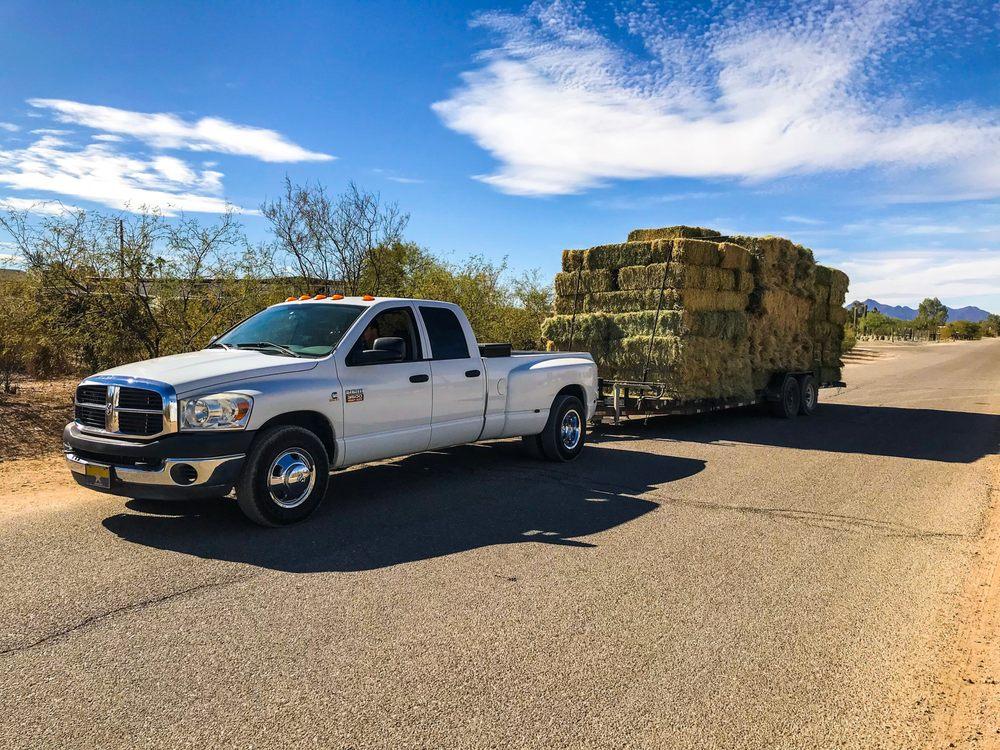 Western Hay Sales: 16050 W Sandy St, Marana, AZ