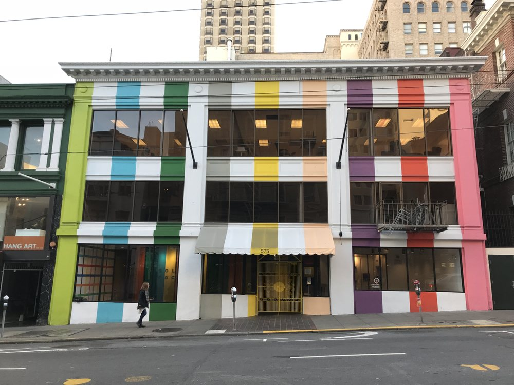 exterior of the color factory in san francisco yelp. Black Bedroom Furniture Sets. Home Design Ideas