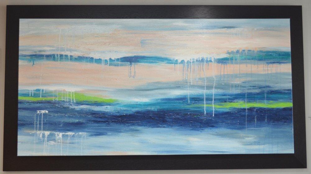 Original Acrylic On Canvas By Jo Mathers Original Price 3800