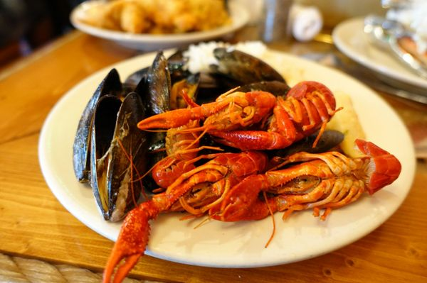 Excellent Captain Georges Seafood Restaurant 731 Photos 1324 Home Remodeling Inspirations Cosmcuboardxyz